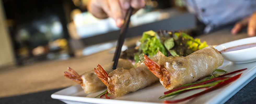 Traditional Vietnamese spring roll