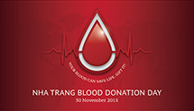 BLOOD DONATION DAY AT  THE INTERCONTINENTAL NHA TRANG